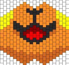 Raichu Smile Kandi Mask Beading Patterns Free, Peyote Patterns, Bead Patterns, Cross Stitch Patterns, Diy Mask, Diy Face Mask, Kandi Mask Patterns, Pony Bead Crafts, Kandi Bracelets