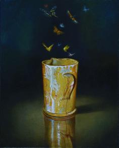 Moth, Shot Glass, Vase, Artist, Painters, Fragrances, Butterfly, Animal, Decor