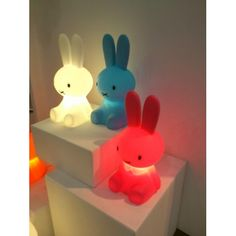 Miffy lamps!