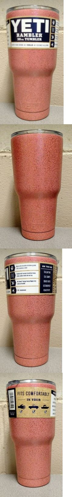 Other Camping Cooking Supplies 16036: Yeti! 30Oz Rambler Tumbler-Pink Rose Gold Sparkle-New!-Free Priority Shipping! -> BUY IT NOW ONLY: $35.99 on eBay!