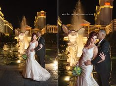 Las Vegas Strip Elopement Photos- Bonny & Peter - Las Vegas Event and Wedding Photographer