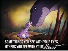 Land Before Time - one of the best films ever even though it makes you cry like a baby