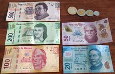 Image result for mexican peso bills 2017