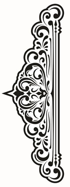 красивые орнаменты Stencil Patterns, Stencil Designs, Pattern Art, Pattern Design, Stencils, Stencil Art, Machine Silhouette Portrait, Carving Designs, Sgraffito