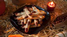 halloween essen rezepte ideen kekse finger hexe mandeln