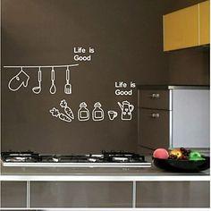 cocinar etiqueta de la pared decorativos (0565-1105061) – MXN $ 246.44