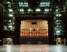 View from the stage of the Bayreuth Festspielhaus. (Photo by Klaus Frahm)