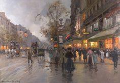 Edouard Cortes ( 1882 - 1969)  Paris