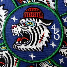 """Freddie"" 1 of 4 ""Bloodbrothers"" series patch. Limited run of 50, Non-Iron on. 3""in"