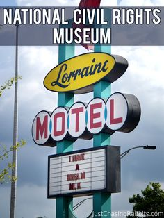 National Civil Rights Museum at the Lorraine Motel in Memphis, Tennessee