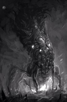 Unknown great old one by Richard Luong