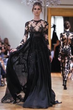 LOOK AT THE CATSUIT IN THE BACKGROUND! Zuhair Murad Fall Winter Couture 2013 Paris