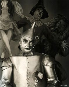If I only had a heart...  Jack Haley • The Tin Man  The Wizard of Oz • 1939
