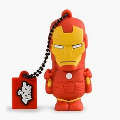 Memoria USB 8 GB Iron Man | USB Originales