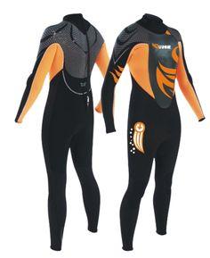 Men/Women Long Sleeves and Long Pants Diving/Surfing Wetsuit (K-4012)
