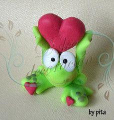 La ranita del amor.... | by Dulce decoración (modelado - tartas decoradas)