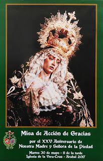 COFRADES DE ARAHAL: Misa de Acción de Gracias por el XXV Aniversario d...