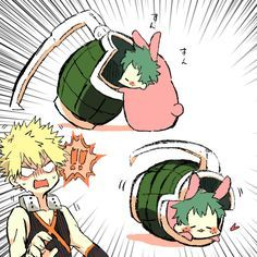My hero academia-Bakugo and Deku My Hero Academia Episodes, My Hero Academia Shouto, Hero Academia Characters, Deku Anime, Chibi, Bakugou Manga, Comic Anime, Villain Deku, Hero Wallpaper
