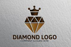 King Diamond Logo by Josuf Media on Creative Market