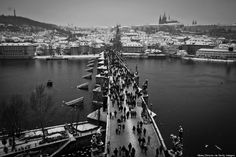 Prague has never looked more beautiful all covered in snow. Check out this breathtaking photo series by Huffington Post. All photos were taken during the last week of 2014, just before New Years Eve.