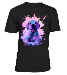 # Golden Retriever .  Colorful Golden Retriever puppypuppy, painting, labrador, puppy, labrador, golden, retriever, puppy, golden, retriever, cute, puppy