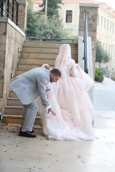 couple, hijab, and wedding resmi