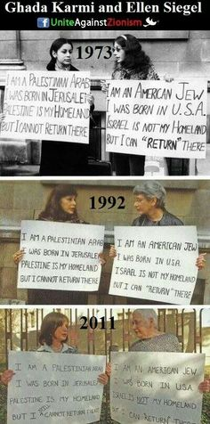 Palestinian woman and Jewish woman protesting together for the freedom of Palestine since Israel Palestine, It Goes On, Faith In Humanity, Homeland, Decir No, Wisdom, Shit Happens, Thoughts, New York