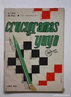 CRUCIGRAMAS YAYO Nº 470 (Libros sin clasificar)
