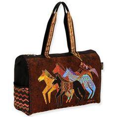 ColorfulCritters - Laurel Burch Native Horses Travel Bag LB5271, $45.99 (http://www.colorfulcritters.com/laurel-burch-native-horses-travel-bag-lb5271/)