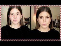 Tutorial de Natal: Olhos Burgundy & Dourados | c/Catarina Pinto | NATAL 2016 - YouTube