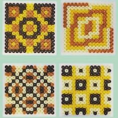 Coasters hama beads by craftycreatives