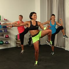 Blast Away Belly Fat With This Workout! - Get ready to torch some calories and tone your abs with this workout from Jeanette Jenkins, president of The Hollywood Trainer. It's high-energy and fun! Mixing full-body exercises with ab-scul Fitness Diet, Fitness Motivation, Health Fitness, Health Diet, Fitness Inspiration, 10 Minute Workout, Night Workout, Belly Fat Workout, Butt Workout