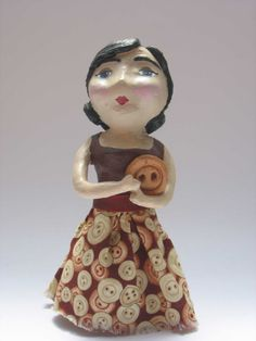 I want to learn how to work with paper clay