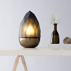 Mr. Flame Lamp - Grey by DECHEM #MONOQI