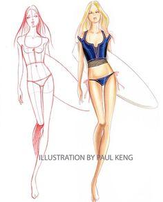 Fashion Illustrator Paul Keng   58 photos   VK