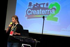 Createrria! Craft your games! by Michał Ostrowski — w miejscu: Państwowa Wyższa Szkoła Filmowa, Telewizyjna i Teatralna im. Leona Schillera w Łodzi