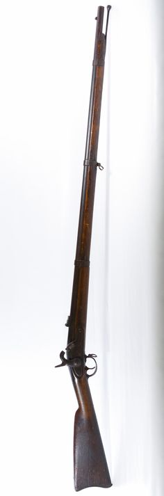 Lot 290: 1864 Springfield .58 Cal. Percussion Rifle (no serial #); Original musket manufactured by E. Robinson under an 1861 contract with Springfield Armory