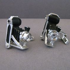 Vintage Old Folding Camera With Bellows Cufflinks #rubylane