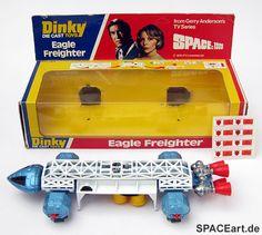 Mondbasis Alpha 1: Eagle Frachter - Dinky, Fertig-Modell ... http://spaceart.de/produkte/spn009.php