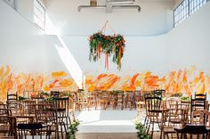 Wedding Ideas That Are Packed with Punchy Color https://goo.gl/HAlPCy
