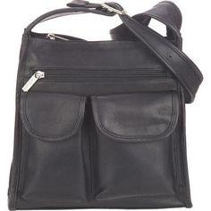 ... compartment  li  li Two interior cell phone pockets and pen loops   interior zip pocket  li  li Genuine leather exterior  li  li Fully lined  li  li 11