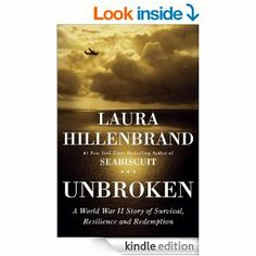 Unbroken: A World War II Story of Survival, Resilience, and Redemption by Laura Hillenbrand -- Louis Zamperini was a juvenile delinquent, a university athlete and record-breaker,  an Olympic track star, a WWII bombardier, a POW, an atheist, a Christian, a son, a brother, a father . . . still alive at the age of 97, his life is the subject of the movie of the same name.