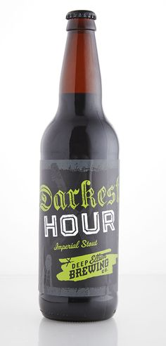 Darkest Hour Imperial Stout, Deep Ellum Brewing, Dallas, Texas.