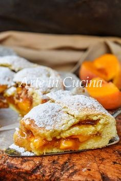 Fruit Recipes, Sweet Recipes, Dessert Recipes, Pineapple Desserts, Peach Cake, Italian Cake, Torte Cake, Love Eat, Sweet Cakes