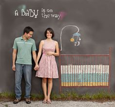 10 creative pregnancy photos | The Party DIY