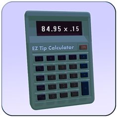EZ Tip Calculator for Android:  Convenient utility to easily calculate your restaurant bill with tip, and split among multiple people. Restaurant, Calculator, Finance, App Store, Google Play, Tips, People, Travel, Iphone