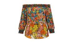 Tangerine Print Silk Mandy Top Night Looks, Womens Fashion Online, Mix Match, Whistles, Floral Prints, Women Wear, Dressing, Men Casual, Silk