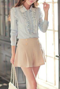 20 Girlish Ruffle Work Outfits For Stylish Ladies | Styleoholic waysify