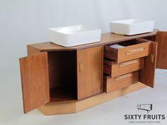 764 Gplan Vintage Dressoir Wastafelkast Vanity, Bathroom, Dressing Tables, Washroom, Powder Room, Vanity Set, Full Bath, Single Vanities, Bath