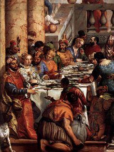 The Marriage at Cana (detail) 1563 Oil on canvas Musée du Louvre, Paris